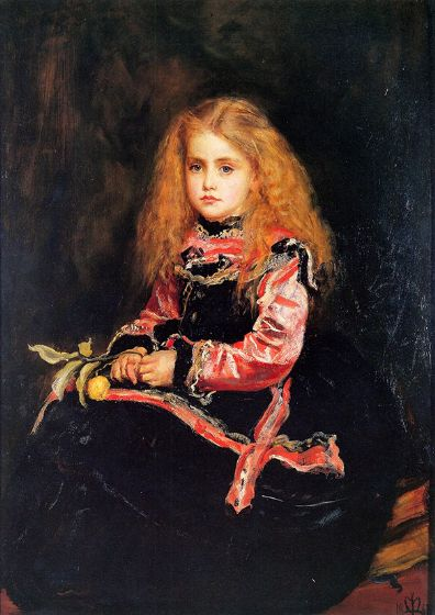 Millais, John Everett: Souvenir of Velasquez. Fine Art Print/Poster. Sizes A4/A3/A2/A1 (00701)
